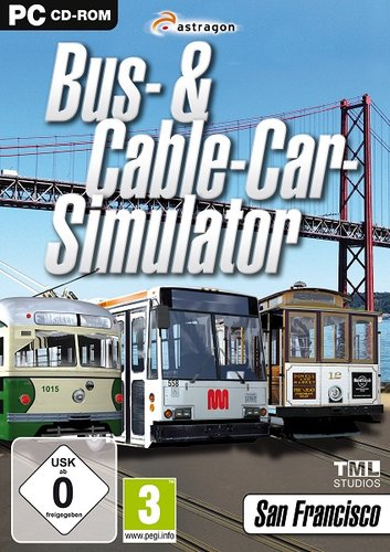 Bus & Cable Car Simulator: San Francisco (2011/DE) Juego Pc