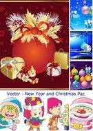 Vectores - Año Nuevo y Navidad Heb3ksrkh5o6_t