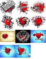 Vectores corazónes con sangre 3h69bxz3kusf_t