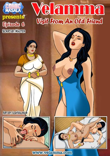 Velamma Episode 5-8 (best Indian masala comic,inzest,Hentai,English) Cover 2
