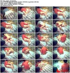 無修正.彼女とのセックスを盗撮した動画。5本