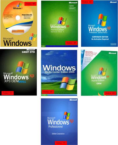 Todos Los Windows XP SP3 [32-64bits][Espa�ol][Desatendidos]