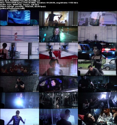 x9vy4eysgc91 t Resident Evil 5: La Venganza (2012) Español Latino