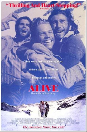 Alive (1993) BRRip Dual Audio Hindi Dubbed 350MB