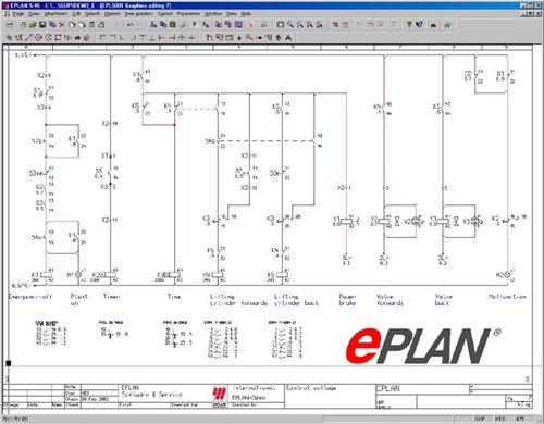 Eplan 8 dise o de esquemas electricos borneros materiales for Programa de diseno de closet gratis en espanol