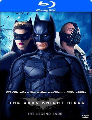The Dark Knight Rises 2012 Dual Audio 720p BRRip 850mb HEVC x265