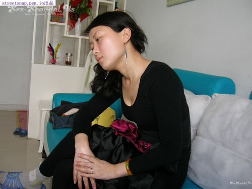 Chinese newlywed couple