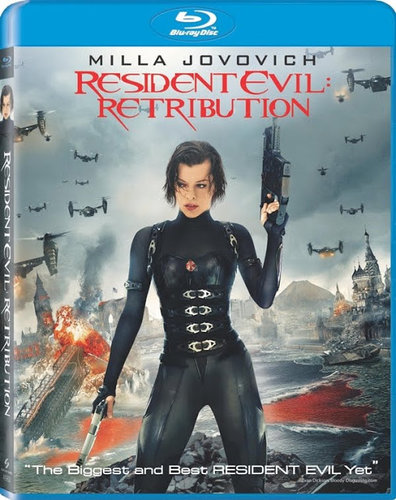 Resident Evil 5: Retribution (2012) BRRip Dual Audio Hindi Dubbed 300MB