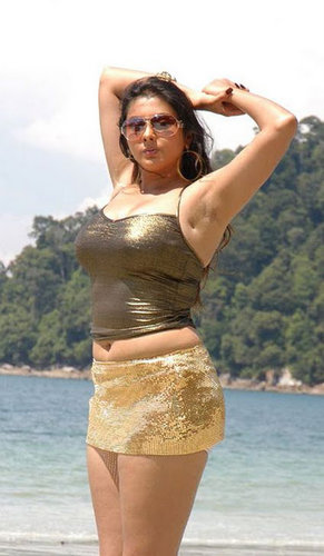 Namita Kapoor Bare Back And Armpit Still Pictures