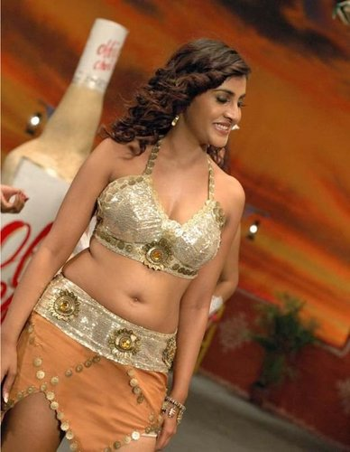 South Indian Hot Actress Kausha Breast And Belly Photo