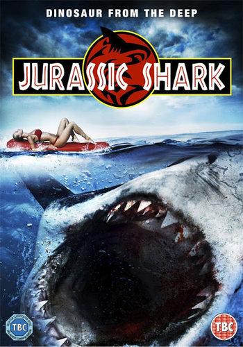 Jurassic Shark (2012) BRRip Hindi Dubbed 450Mb