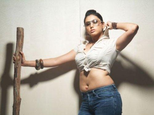 Namitha Hot In Tight Short Shirt Exposes Deep Navel And Boobs Spicy Stills Photos