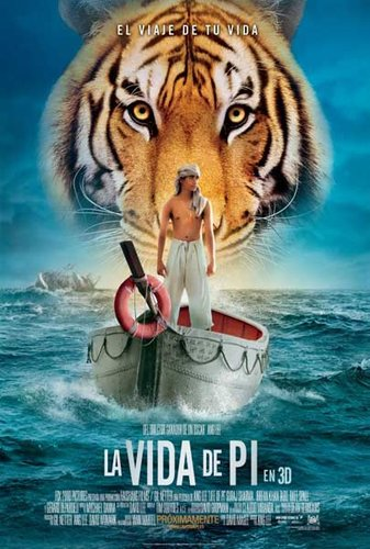 Life of Pi (2012) DvdScr Hindi Dubbed 450Mb
