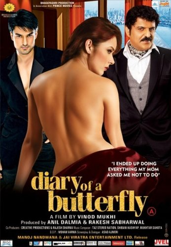 [8+] Diary of a Butterfly (2012) HDRip 500Mb