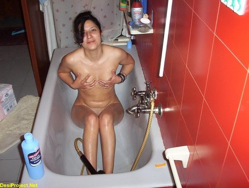 Hot Desi Bathing Nude