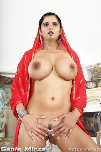 Sania Mirza Fully Naked Shows Her Big Tits And Shaved Pussy Without