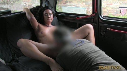 fake taxi lesbian