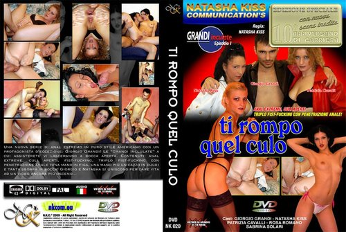 <p>Title: Ti Rompo Il Culo Studio: EPM &#8211; Natasha Kiss Director: Natasha Kiss Starring: Giorgio Grandi, Natasha Kiss, Patrizia Cavalli, Rosa Romano, Sabrina Solari Format: MP4 Audio: AAC, 44100 Hz, stereo, 128 kb/s Video: AVC MPEG-4 codec, 720&#215;404, 25.00 fps Length: 01:52:29 Size: 1,44Gb http://streamin.to/t2ij6w0nsh0g (NEW) http://played.to/j9jngwhf1bui (NEW) http://www.firedrive.com/file/7B2A1A55057BAE52 Your browser does not support JavaScript. [&hellip;]</p>
